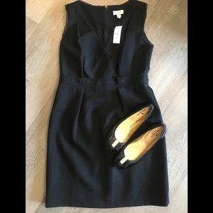 Black LOFT sleeveless dress